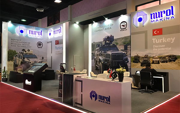 NUROL MAKİNA IDEAS 2019 DEFENCE SHOW